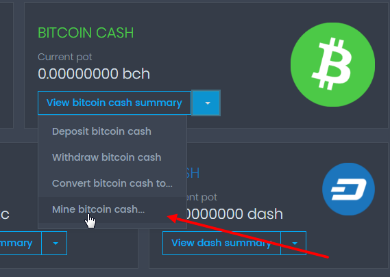 майнинг-bitcoincash-майнинг-dash