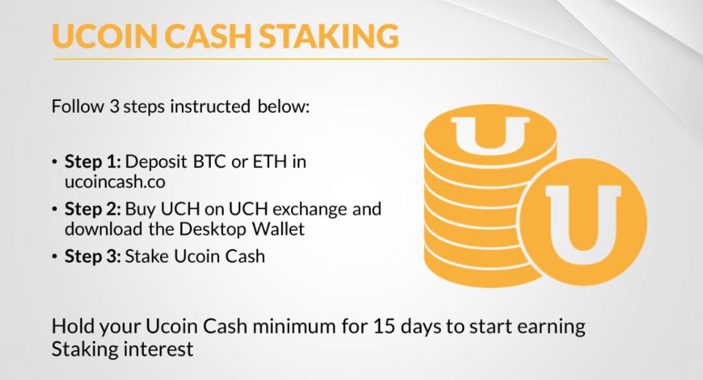 пос майнинг для монет UCH Ucoincash