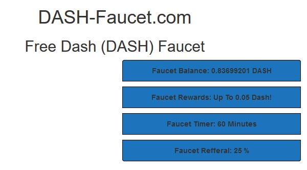 Список Dash кранов которые платят (Dash-faucet) | NewCripto