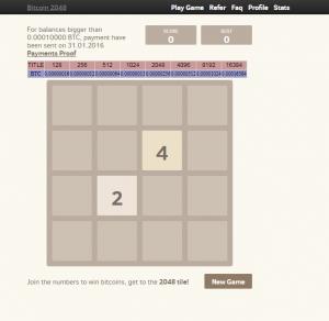 как играть в bitcoin игру 2048