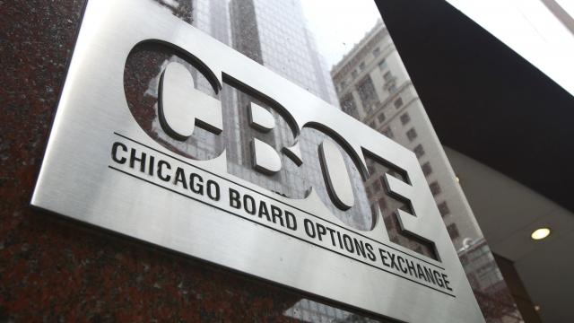 получение etf биржей cboe